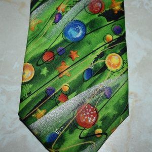 Jerry Garcia Christmas Tree Tie Holiday Still Life